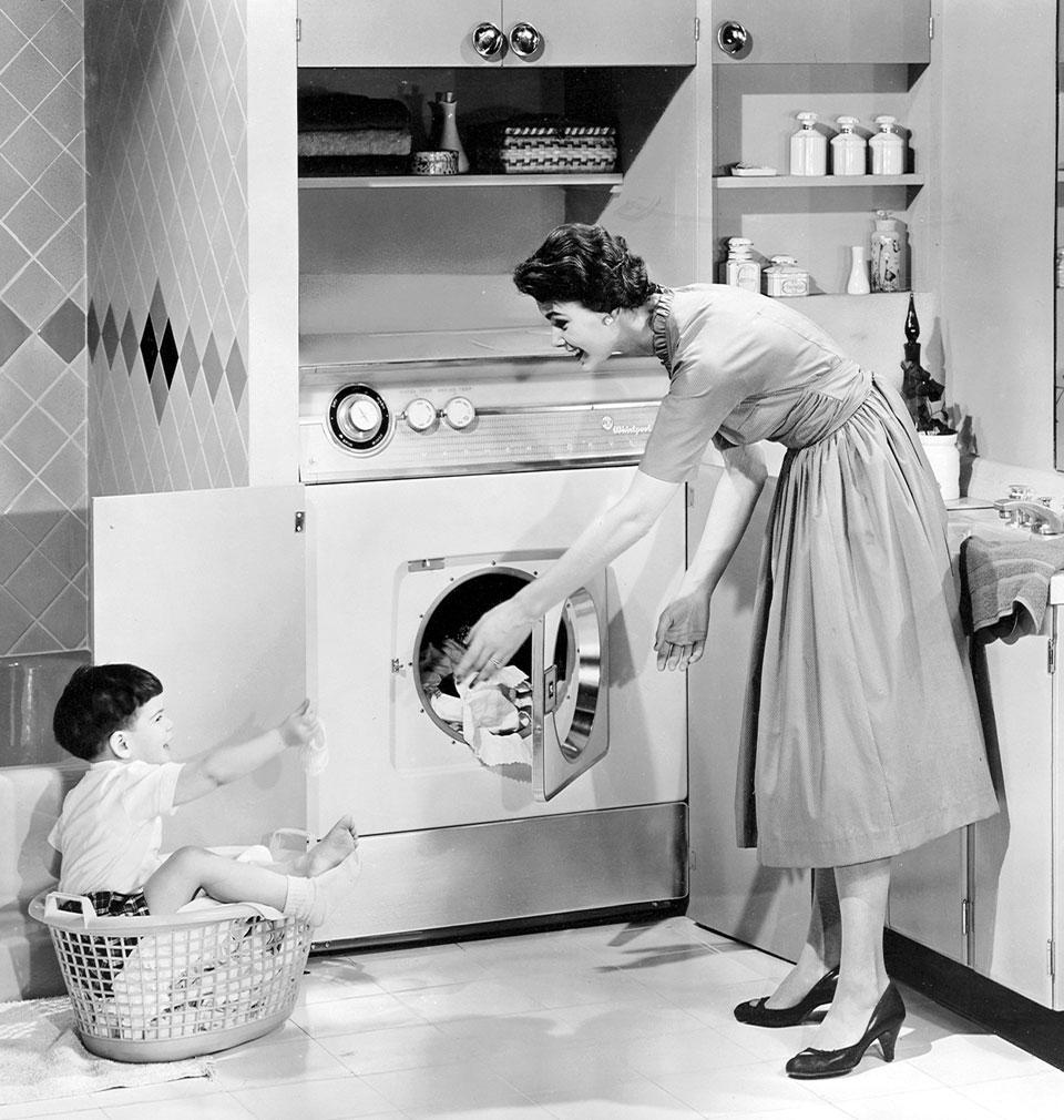 Lavatrice la costruzione sociale della sua utilit la lavatrice - Cucine americane anni 50 ...